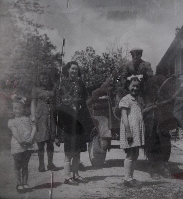 photo de famille des années 1950